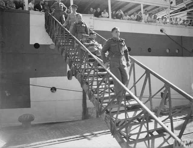 British prisoners arriving at Alexandria, 10 April 1942 worldwartwo.filminspector.com
