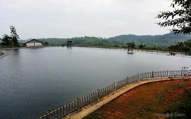 Panorama Embung Tlogopucang, Kandangan, Temanggung