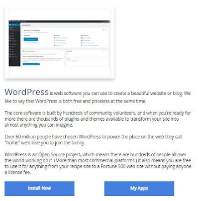 WordPress Install Now