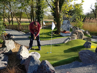 Jiggers Miniature Golf course at the Thorpeness Golf Club & Hotel in Suffolk