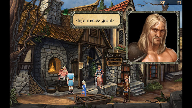 Screenshot from Mage's Initiation: Reign of the Elements