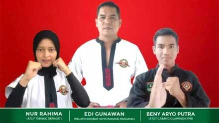 Tiga Atlet Padang Panjang berlaga di PON XX Papua