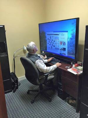 Alt sein in einer Modernen Welt - Computer lustig
