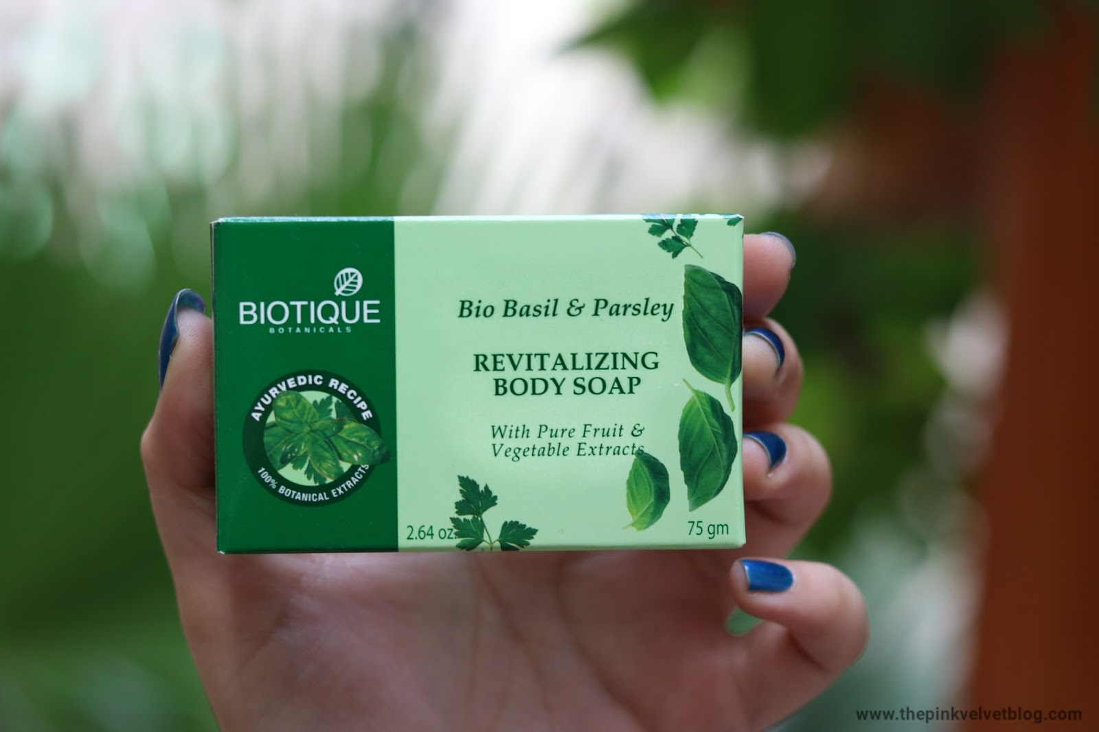 Biotique Basil and Parsley Soap