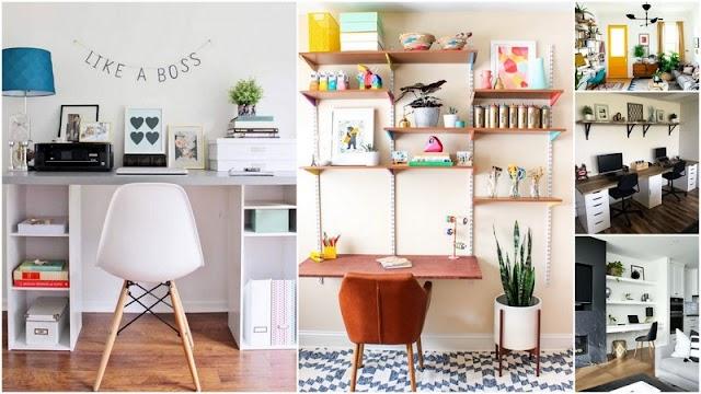 2 Τρόποι για να δημιουργήσετε εύκολα και οικονομικά ένα γραφείο στο σπίτι