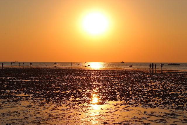 Puesta de sol en Sanlúcar de Barrameda