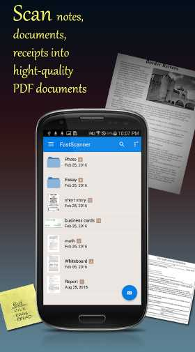 fast portable scanner apk android