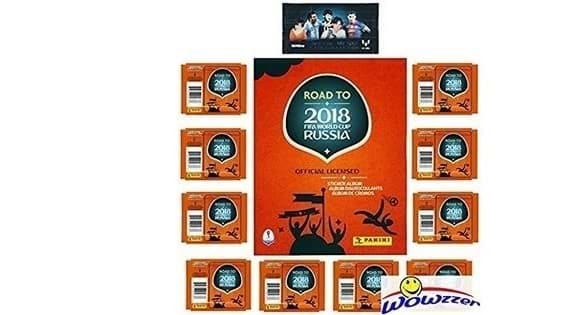 2018 Panini Road to FIFA World Cup Russia SPECIAL Collectors Package