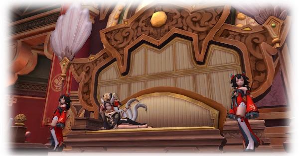 《新龍之谷》巢穴上的狐火-花蘭宮殿