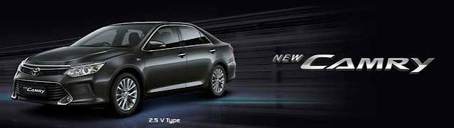 Mobil Toyota Camry Terbaru 2019