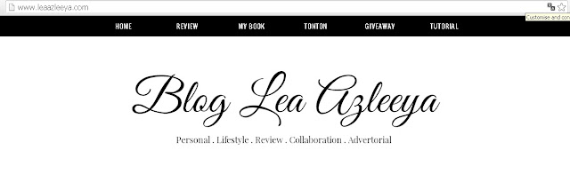 Pageview Blog Lea Azleeya Cecah Setengah Juta