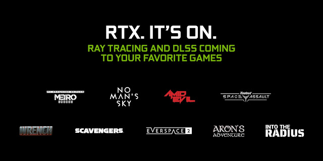 Nvidia to add support of NVIDIA DLSS support on 9  more games this month - Including Metro Exodus and No Man's Sky | TechNeg