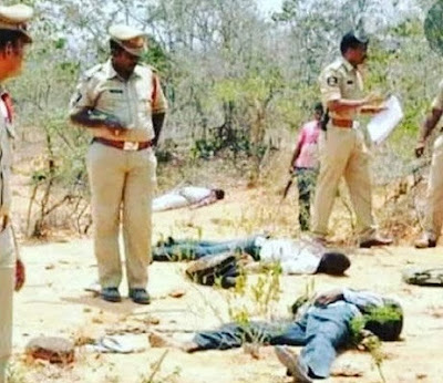 All four accused in Hyderabad rape-murder case killed in encounter.