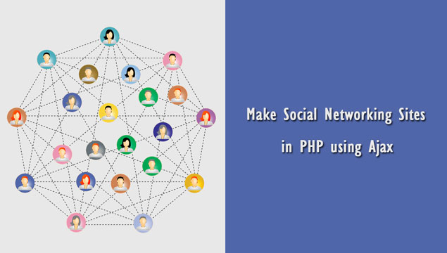 Make Social Networking Sites in PHP Mysql using Ajax