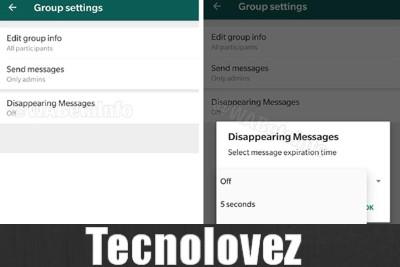 WhatsApp - Arrivano i messaggi che si autodistruggono - Ecco come funzionerà la nuova funzione