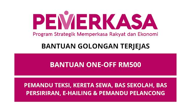 Bantuan One-Off RM500 - Utusan Khas Perdana Menteri 2021