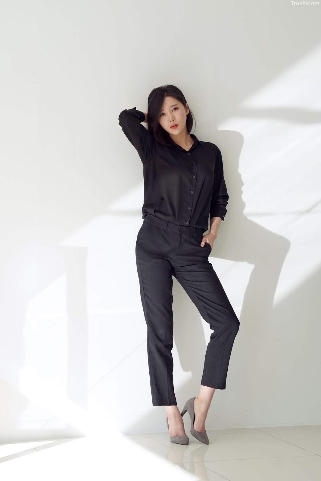 Korean racing queen - Song Ju Ah - Studio Photoshoot - Picture 1