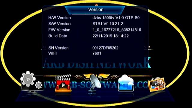 DRAKE 990 PLUS SUNPLUS 1506TV STB1 V 9.10.21 NOV 22 2019