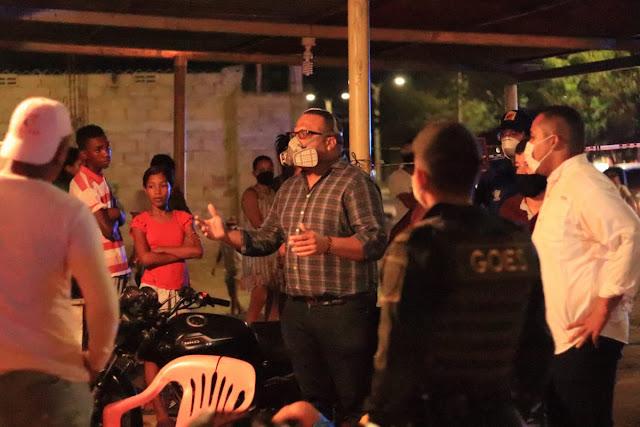hoyennoticia.com, Alcalde de Riohacha anuncia mano dura a violadores de la Ley seca o del toque de queda