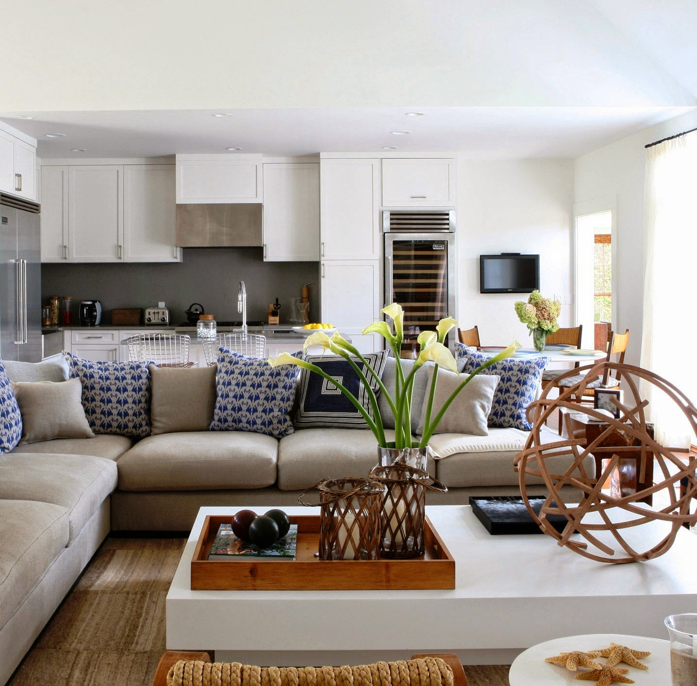 Designing a beach themed living room ideas for home decor - Beach themed living room ideas ...