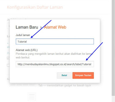 Cara Membuat Label Postingan Di Blogger