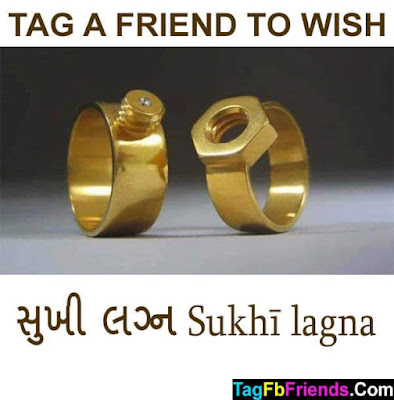 Happy marriage in Gujarati language