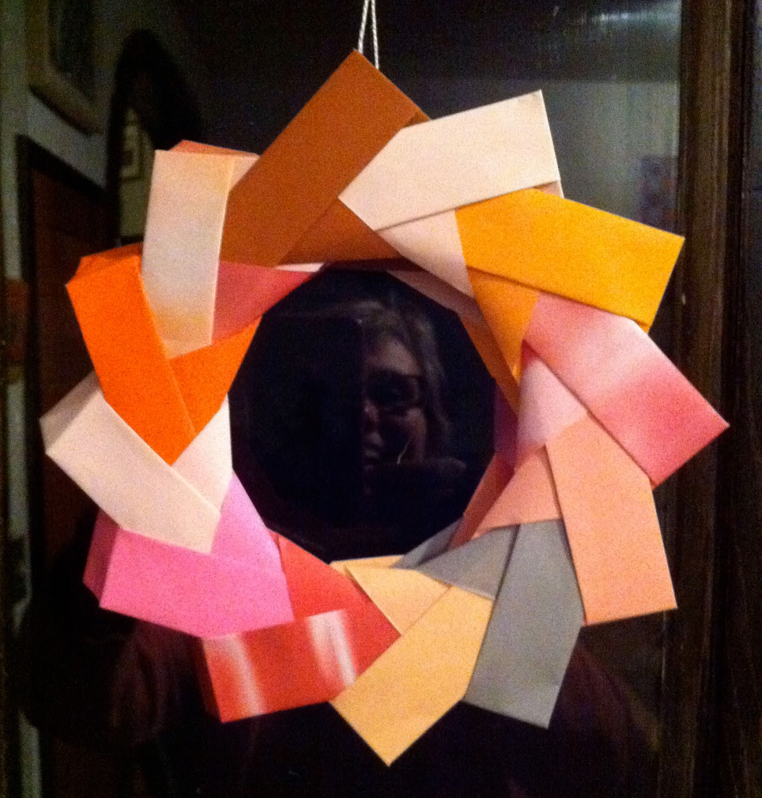 Dörte Weber: Origami Wreath - photo#36