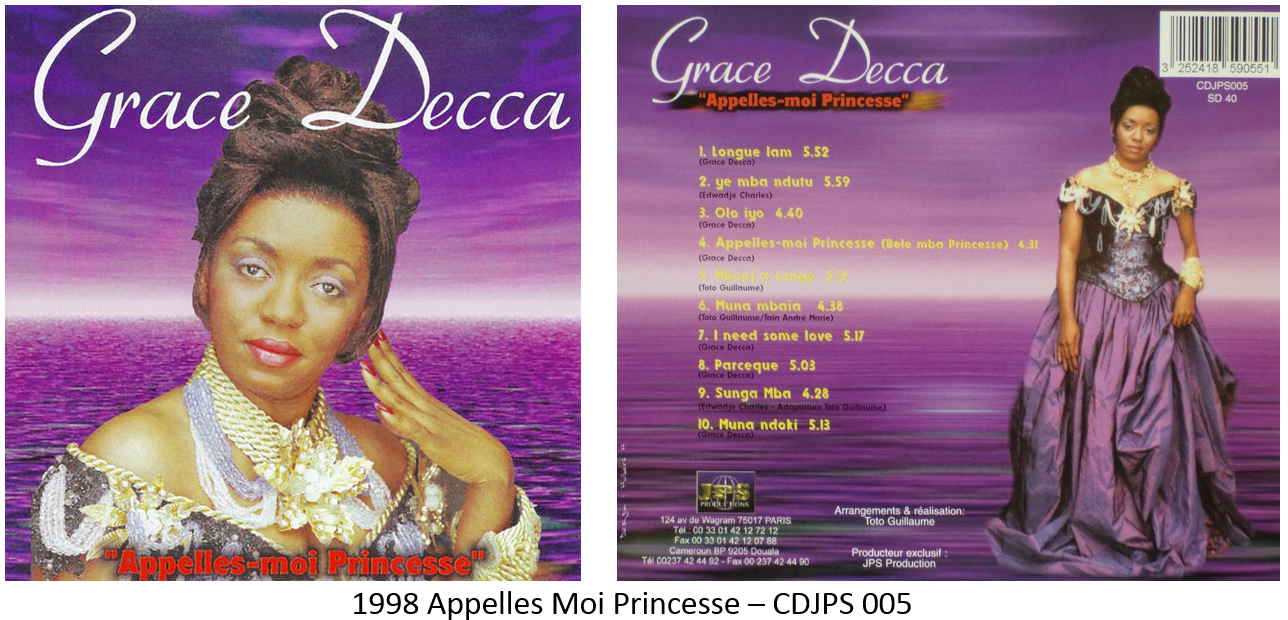 GRATUITEMENT GRACE DECCA MP3 TÉLÉCHARGER MOUNA
