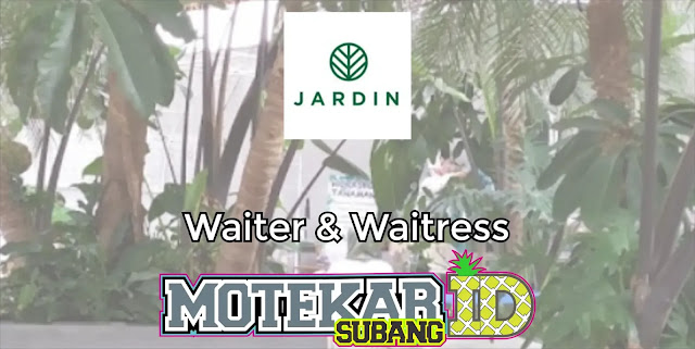 Info Loker Waiter & Waitress Jardin Cafe Bandung 2019