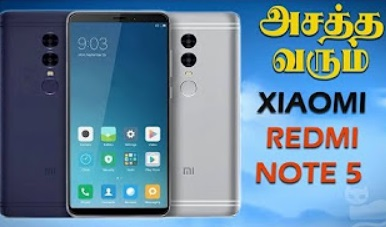 Xiaomi Redmi Note 5 -Bezel-less w / Dual Cameras – Leaks, Rumors & Expectations! in Tamil