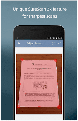 TurboScan : scan documents & receipts in PDF