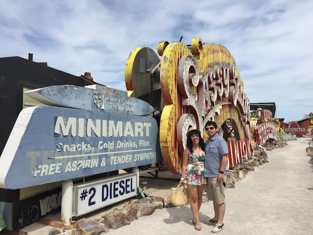 Budget-Friendly Las Vegas Attractions:The Neon Sign Museum | Will Bake for Shoes