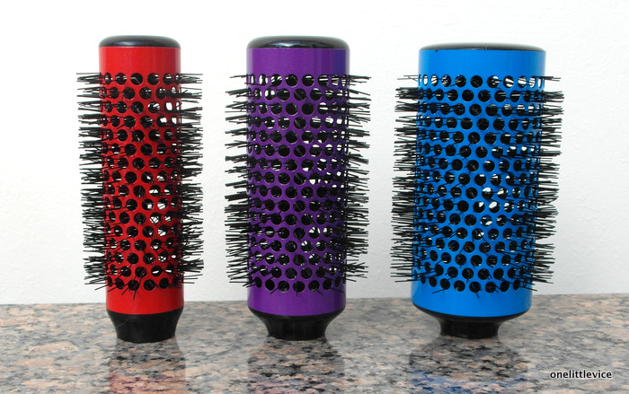 One Little Vice Beauty Blog: Click N Curl Rollers Review