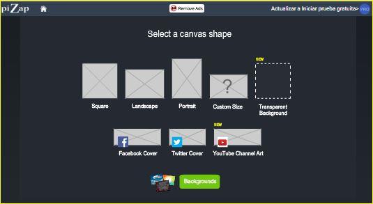 Jugando y aprendiendo juntos: PiZap Photo Editor, creando imágenes ...