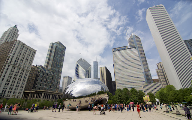 Millenium Park y la Cloud Gate en Chicago