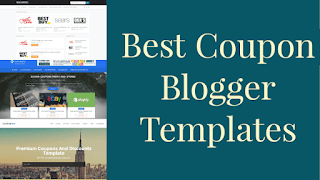 3 best Coupon blogger templates