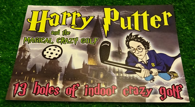 Harry Putter and the Magical Crazy Golf in Felixstowe