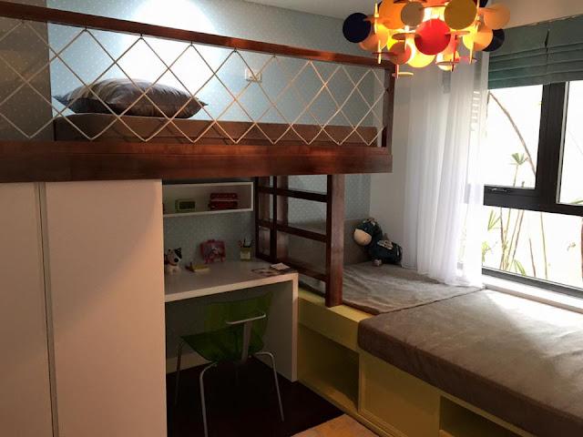 Phòng ngủ thiết kế thông minh Goldsilk Vạn Phúc