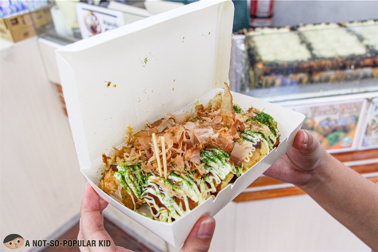 Takoyaki with Japanese Mayo in New Hatchin Grocery in Cartimar