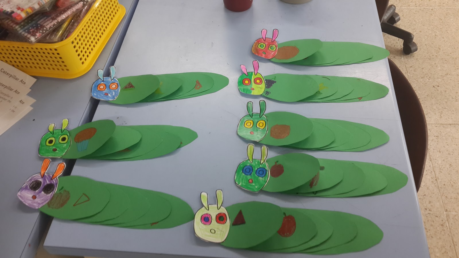 Camp Day 3 The Very Hungry Caterpillar Eric Carle Mrs