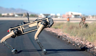 V60 Q-UGV Robot Dogs