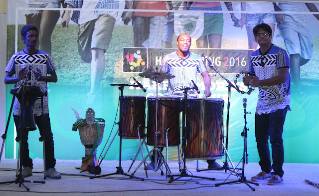 Renowned band Drums Events India enthralls ex students of Greenwood High with African beats