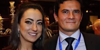 'Eu MORO com ele': esposa de Sérgio Moro cria página de apoio ao juiz