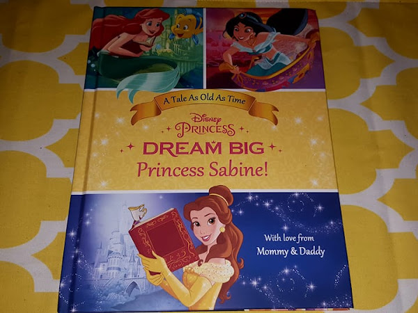 Your Little One Can Dream Big with Princess Belle in a Personalized Book from Put Me In the Story!
