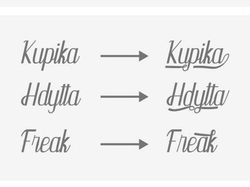 Kupika Script Font Free Fonts For Commercial Use