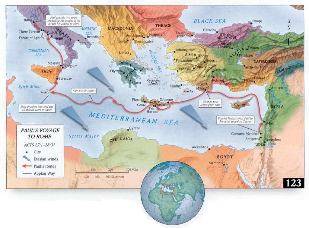 mapa del viaje de pablo a roma » 4K Pictures | 4K Pictures [Full HQ ...