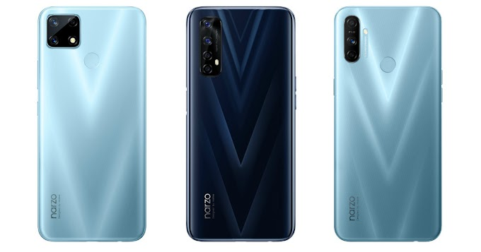 Realme Narzo 20, Narzo 20 Pro, Narzo 20A launched in India, prices start from Rs 8,499