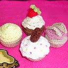 http://www.ravelry.com/patterns/library/mini-cupcake-toppings-collection-one
