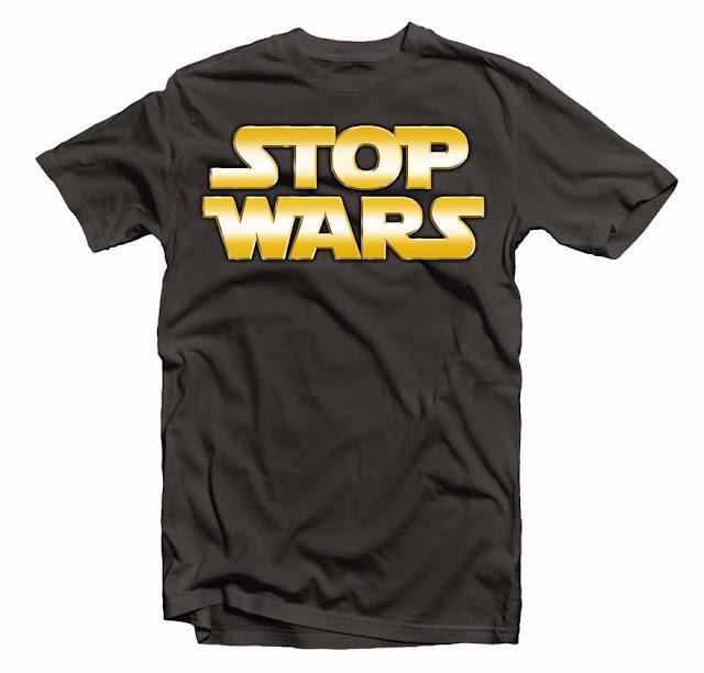 stop wars tshirts