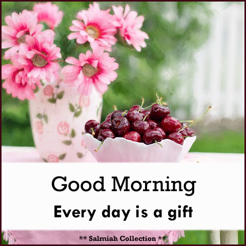 Good morning wish 34 every day is a gift salmiah collection good morning every day is a gift negle Choice Image